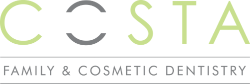 Costa Family & Cosmetic Dentistry Logo Black