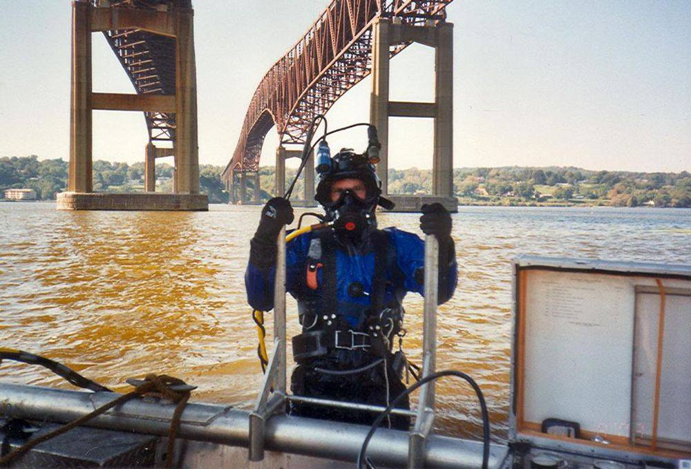 WJ Castle Group Underwater Inspection Diver