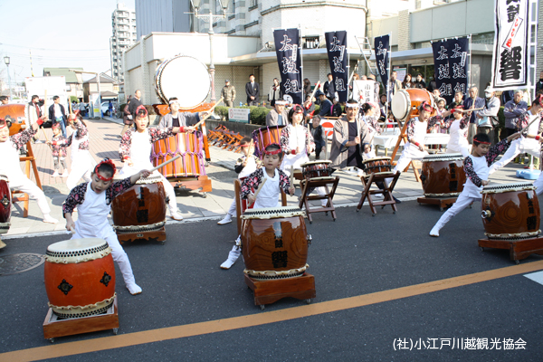 Youth Marching Band Taiko Drumming